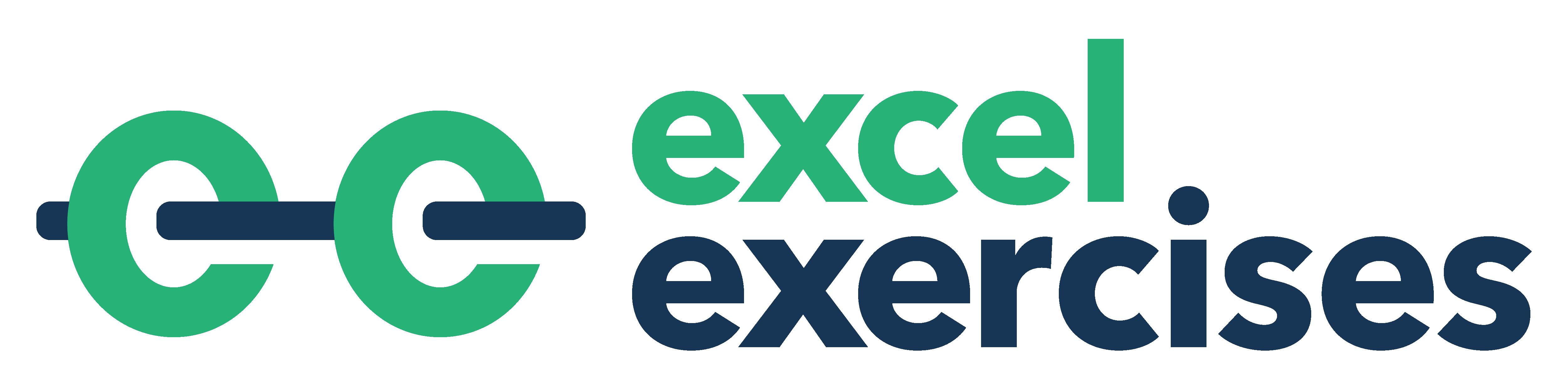 Excel Exercises Practice